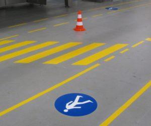 Droga dla pieszych, przejścia dla pieszych