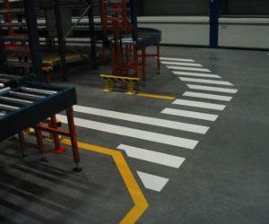 Oznakowanie poziome - Przejście dla pieszych