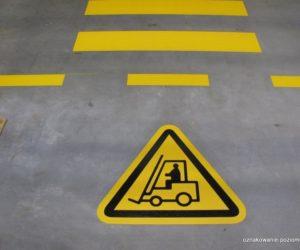 Piktogramy - Uwaga wózek