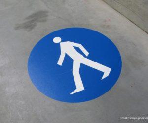 Piktogramy - Droga dla pieszych