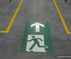 Piktogramy - Drzwi ewakuacyjne