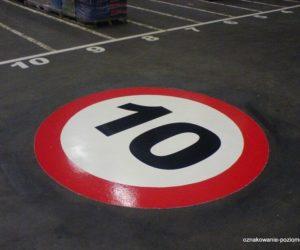 Piktogramy - Ogranicz prędkość