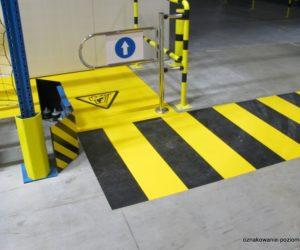 Oznakowanie poziome - droga dla wózków